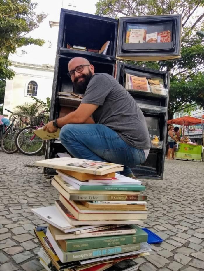 Felipp Castelano é o idealizador do projeto