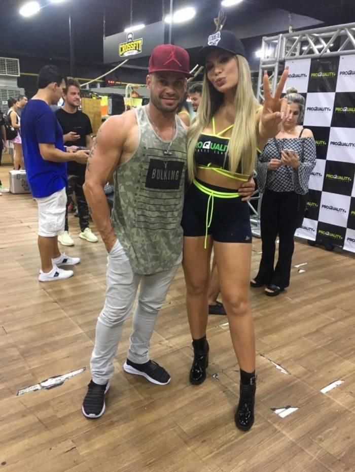 Juliano Ferreira e Fernanda Lacerda