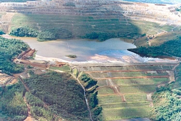 Barragem de Gongo Soco, em Barão de Cocais, foi colocada em alerta máximo de rompimento