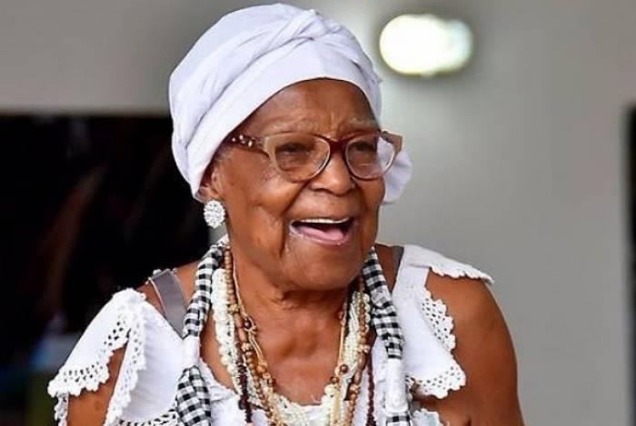 Tia Maria do Jongo faleceu ontem