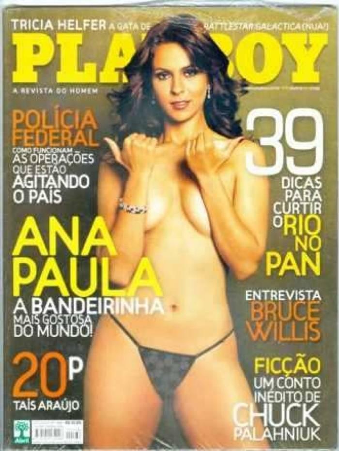 Ana Paula Oliveira, Bandeirinha