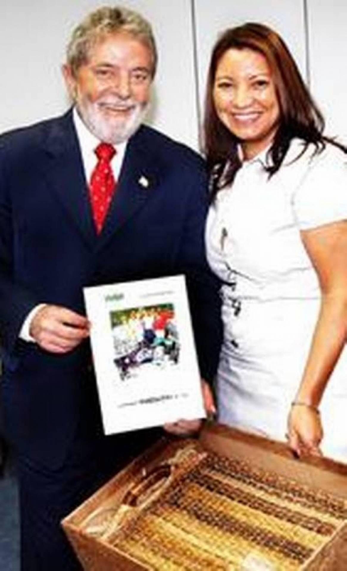 Conheca A Namorada Do Ex Presidente Lula Jornal Meia Hora