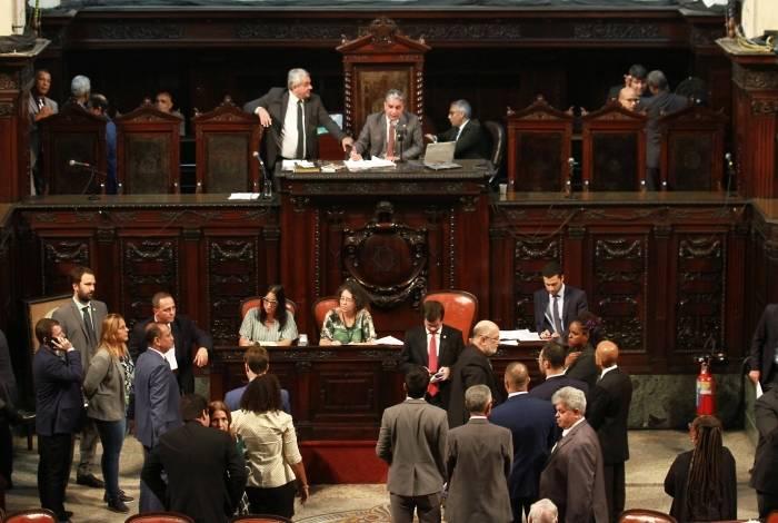 Plenário da Assembleia Legislativa do Estado do Rio de Janeiro (Alerj)