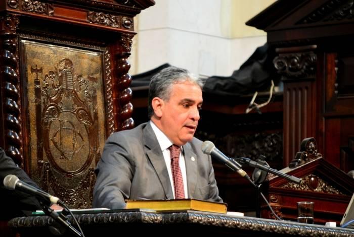 Presidente da Alerj, André Ceciliano