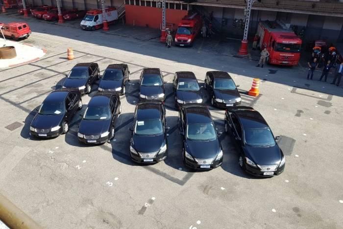 Alerj doará carros para o Corpo de Bombeiros