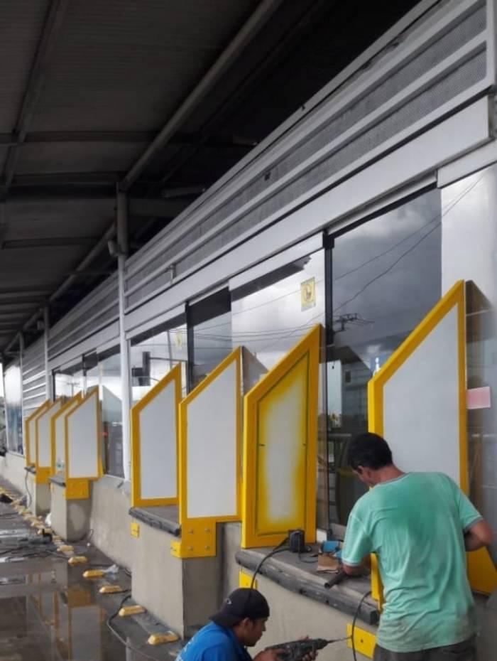Estação do BRT ganhou dispositivo para evitar calote