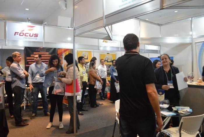 No Expo Síndico, são esperadas mais de 3 mil pessoas circulando pelos três dias de evento