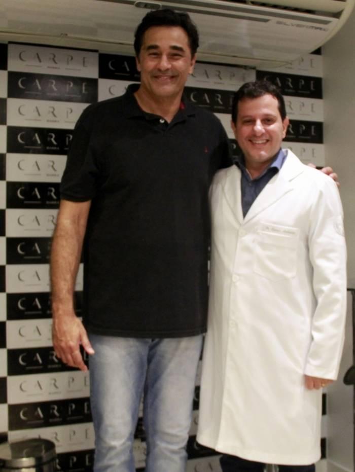 Luciano Szafir e médico