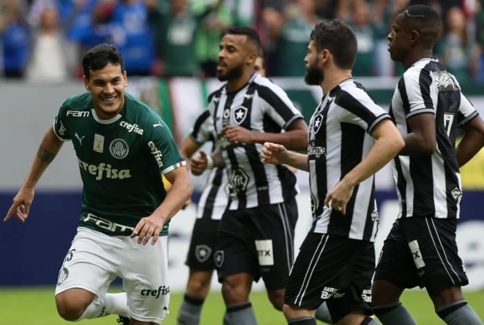 Botafogo e Palmeiras