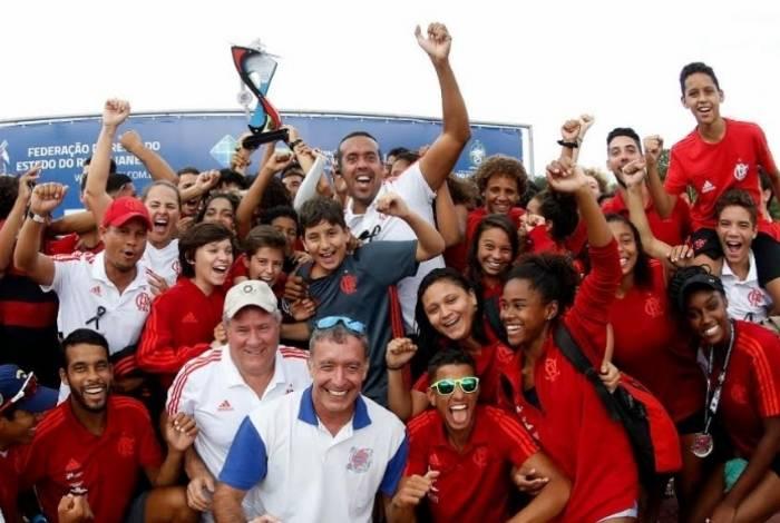 Flamengo teve vitória no remo
