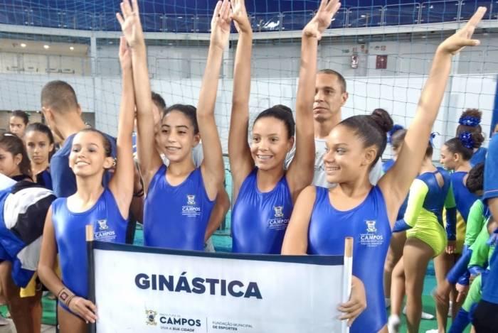 Nove atletas da Fundação Municipal de Esportes representaram Campos no Torneio Estadual de Trampolim, na Arena Carioca 3, no Rio. Três conquistaram o ouro, a prata e o bronze na categoria infantojuvenil