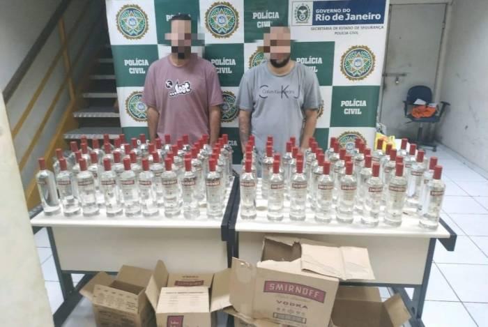 Caio Stecker e Luiz Pedro Morares Vargas de Oliveira foram presos em flagrante