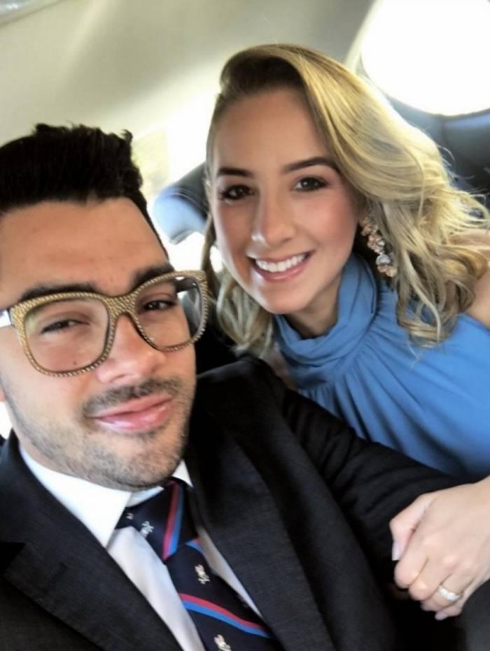 Com a namorada Karoline Calheiros: juntos há mais de dois anos