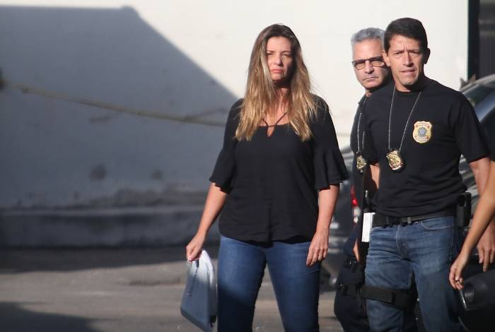 Tânia Maria Aragão Fonseca foi presa em casa, na Barra da Tijuca