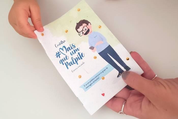 Cartilha 'Mais que um Palpite', idealizada pela Sociedade Brasileira de Pediatria (SBP) e pela Pfizer para comemorar um ano da campanha que leva o mesmo nome