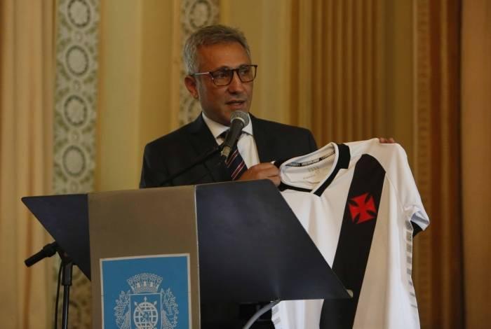 O presidente do Vasco, Alexandre Campello