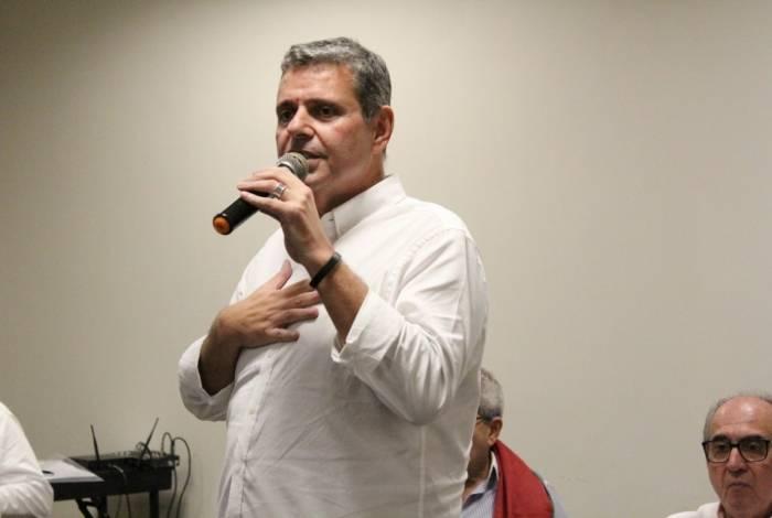 Ricardo Tenório é candidato a presidente do Fluminense
