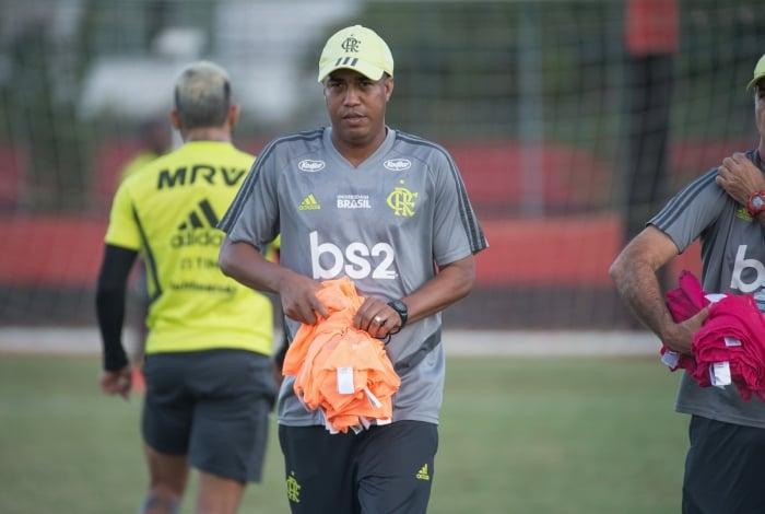 Marcelo Salles, técnico interino do Flamengo