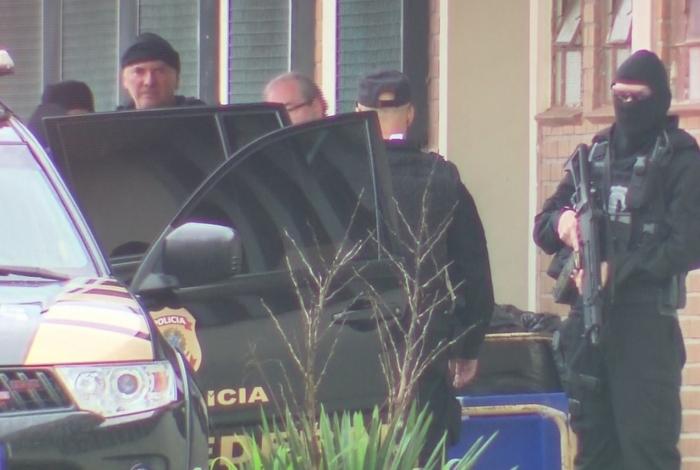 Eduardo Cunha é transferido do Paraná para o Rio de Janeiro