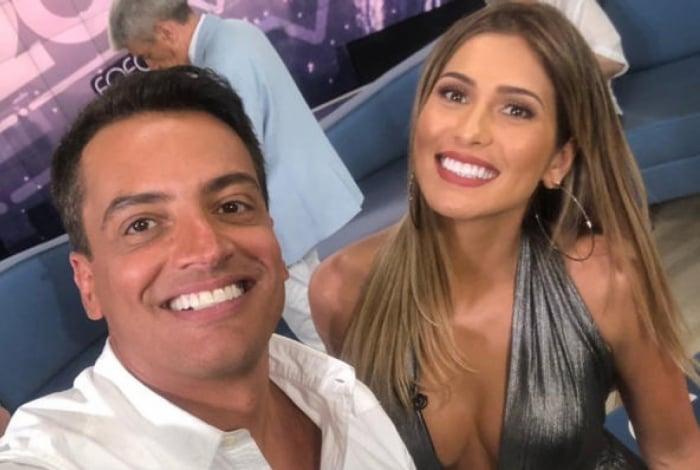 Leo Dias e Lívia Andrade, do Fofocalizando