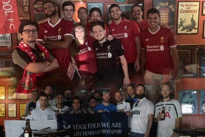 Torcidas de Tottenham e Liverpool prometem lotar os bares do Rio de Janeiro para acompanhar a final da Champions