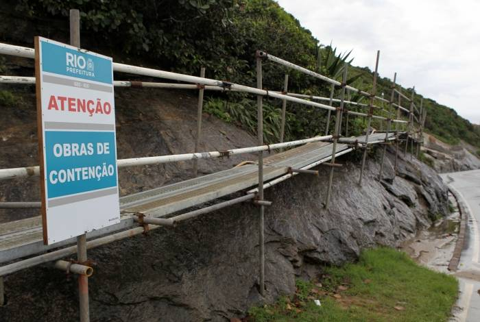 Avenida Niemeyer interditada: falta de planejamento pode provocar tragédias