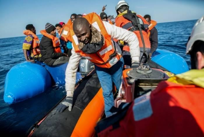 Resgate de imigrantes libaneses, em janeiro deste ano