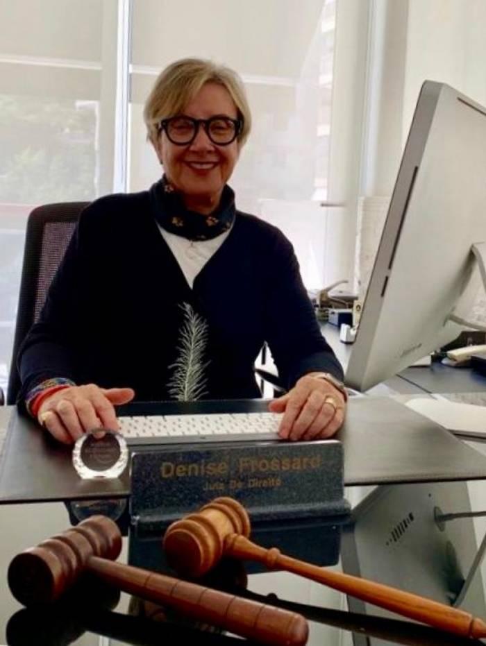 A juíza aposentada Denise Frossard, ex-deputada federal