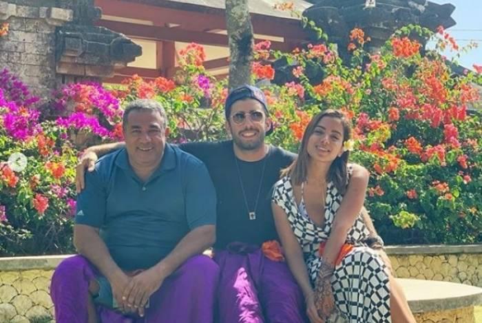 Mauro Machado, Pedro Scooby e Anitta