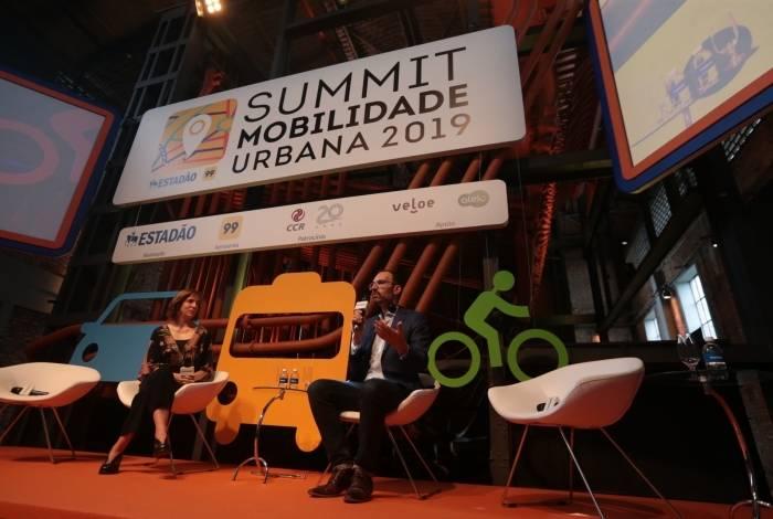 Timothy Papandreou, no Summit Mobilidade Urbana 2019