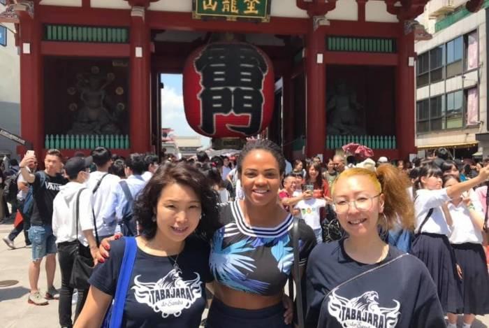 Oficinas de samba com Bianca Monteiro são sucesso no Japão