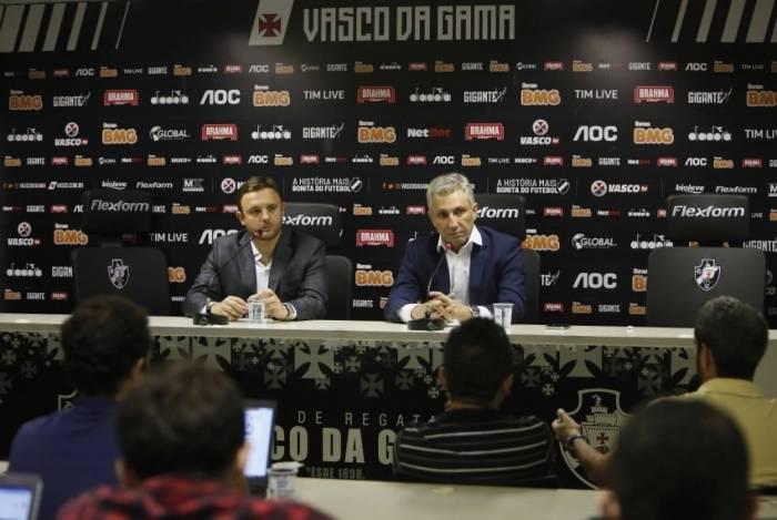 André Mazzuco, de 40 anos, é o novo diretor executivo de futebol do Vasco