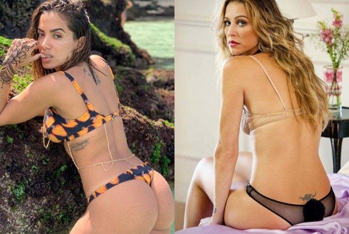 Anitta e Luana Piovani trocam alfinetadas nas redes sociais