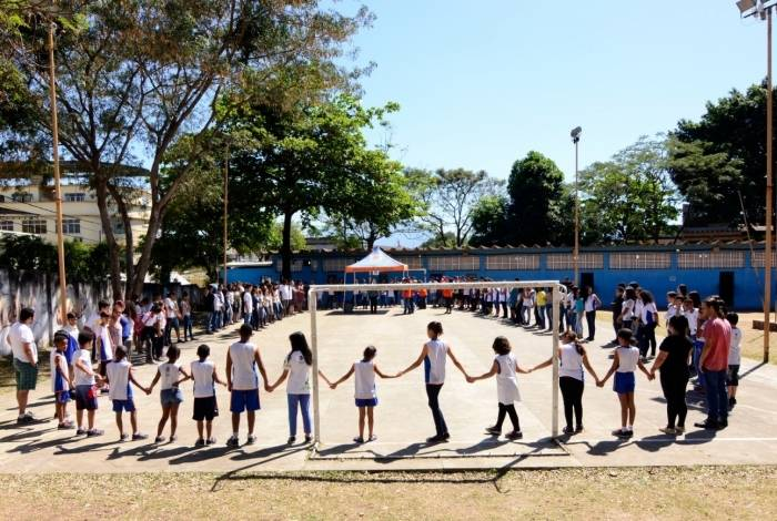 A ação vai envolver 668 alunos de escola
