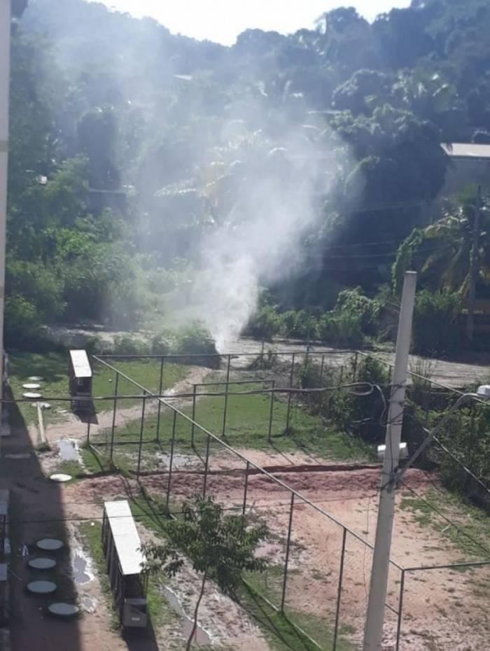 Vazamento de gás em Belford Roxo assusta moradores de Santa Teresa