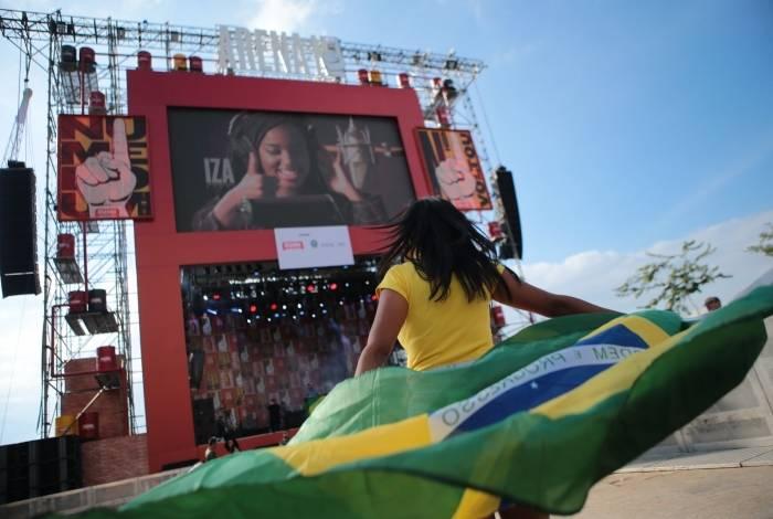 Evento na Praça Mauá terá transmissão da Copa América 2019