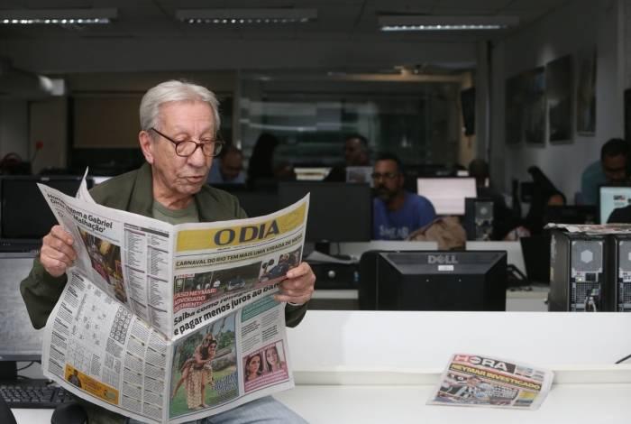 Luarlindo Ernesto, o Luar: mais de duas décadas em O DIA
