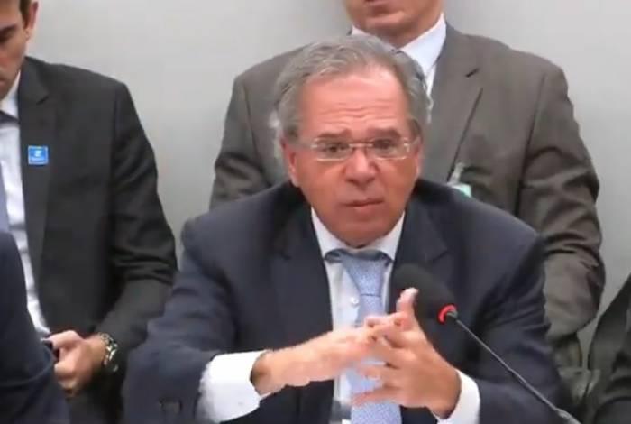 Paulo Guedes respondeu a questionamentos de parlamentares