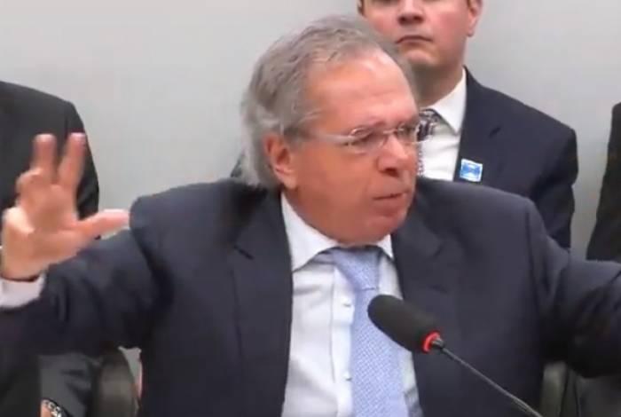 Paulo Guedes disse que, com as mudanças do relatório, a economia fiscal da reforma ficou em R$860 bilhões em dez anos, e não nos R$ 913,4 bilhões informados pelo relator