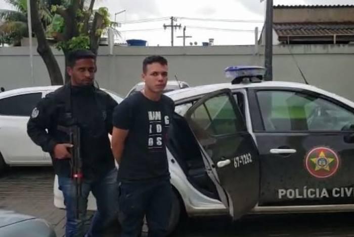 Moisés da Silva foi preso acusado de participar da morte da estudante de Direito