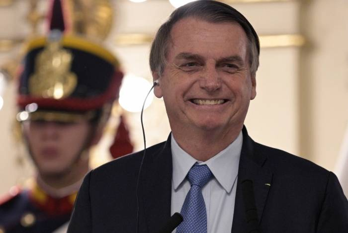 Bolsonaro visitou a Argentina nesta quinta-feira