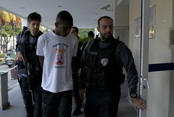 O paraquedista Matheus William foi um dos presos na ação