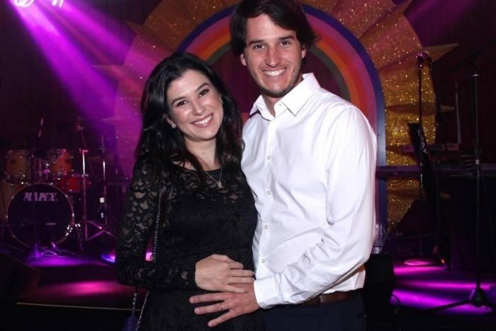Renata Abravanel e o marido, Caio Curado