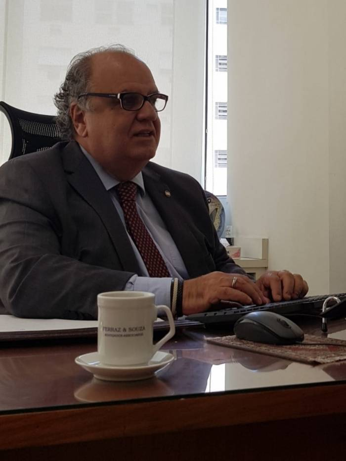 Advogado Armando de Souza, presidente da Comissão de Trânsito da OAB Nacional