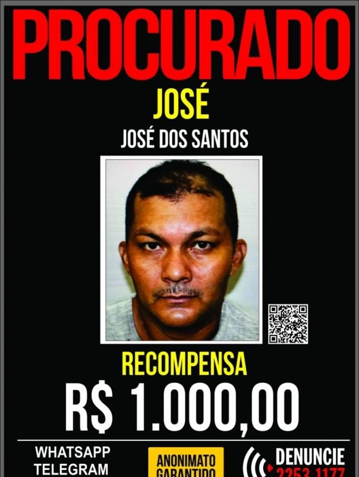José dos Santos, de 43 anos, é o principal suspeito de assassinar Francisco de Bezerra, de 50, dono de uma lanchonete no Engenho Novo