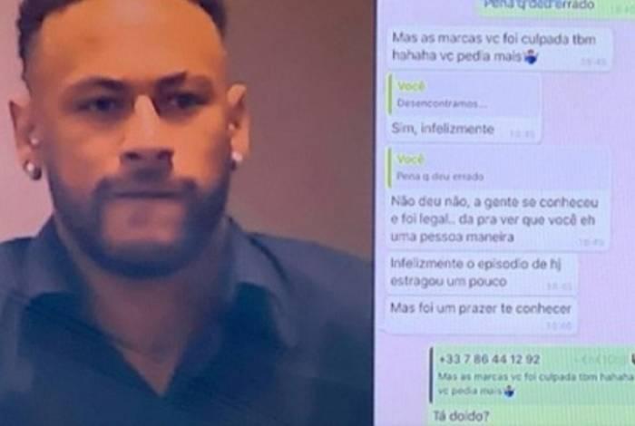 Record exibiu número de Neymar