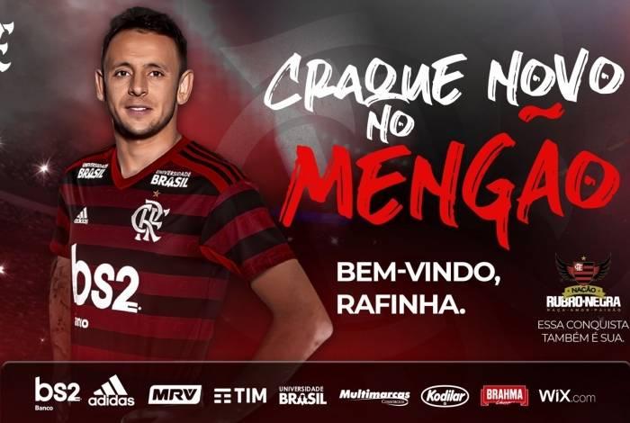 Rafinha fechou com o Flamengo