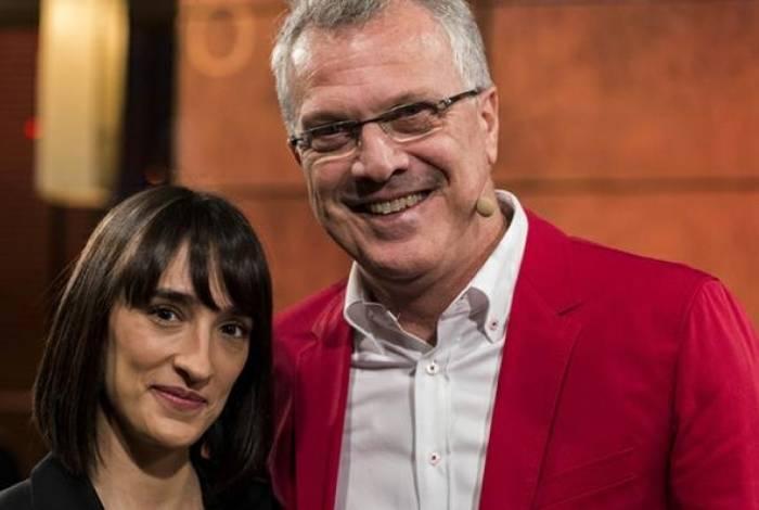 Maria Prata e Pedro Bial serão pais novamente