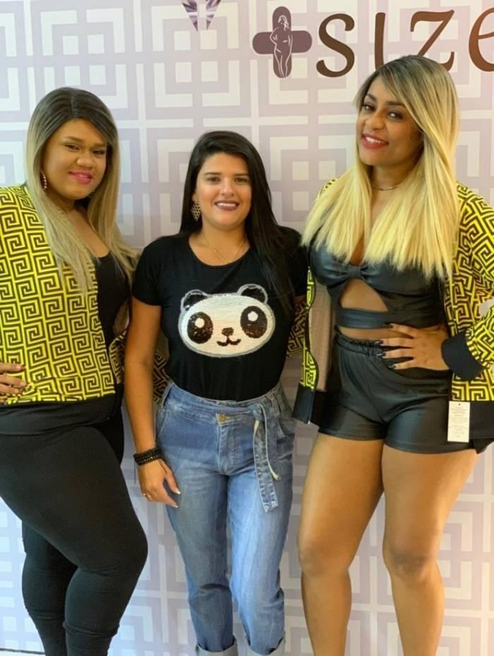 Teresa Daiana, a empresária Day Moraes e Cariúcha