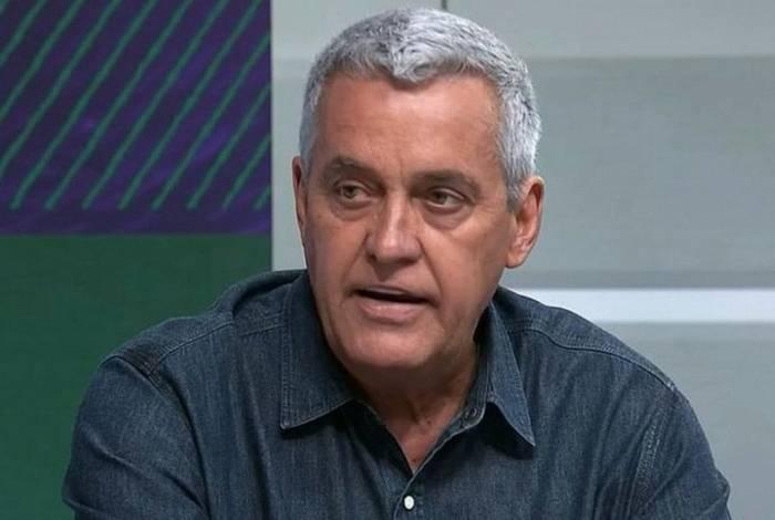 O repórter Mauro Naves